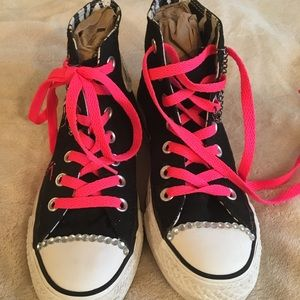 f5a16993ea9a5f Converse Shoes - Converse Blondie With Added Bling
